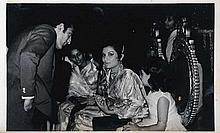 a - c. B/W Glossy Photosof 1968 Wedding of Tiger Pataudi and Sharmila Ragore