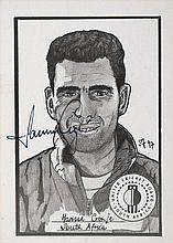 Hand Signed B/WSketch of Hansie Cronje