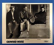 Crowded House a Publicity Photograph