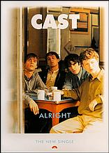 CAST RARE POSTER FOR ALRIGHT