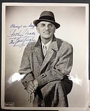 ARTHUR TRACY SIGNED PHOTOGRAPH