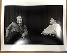 COMEDIANS MEL SMITH & GRIFF RHYS JONES PROFESSIONAL PHOTOGRAPH