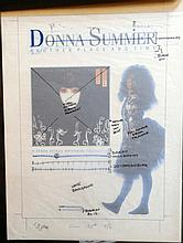 Donna Summer Original Production Artwork for Another Place another time