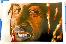 BOB MARLEY GOLD LEAF ARTISTS PROOF
