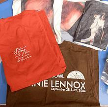 EURYTHMICS ANNIE LENNOX AND STING T SHIRTS