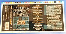 Eric Clapton & John Mayall an Original Cromalin Proof