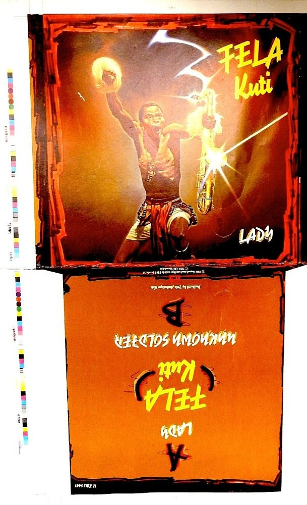 FELA KUTI ORIGINAL PRROF FOR LADY 12: