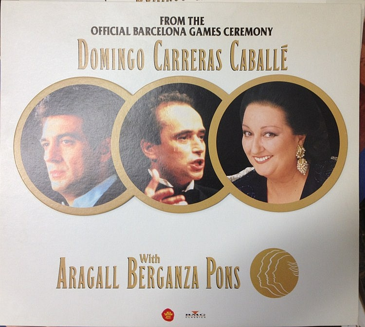 DOMINGO CARRERAS CABALLE Live In Seville Gala Lirica