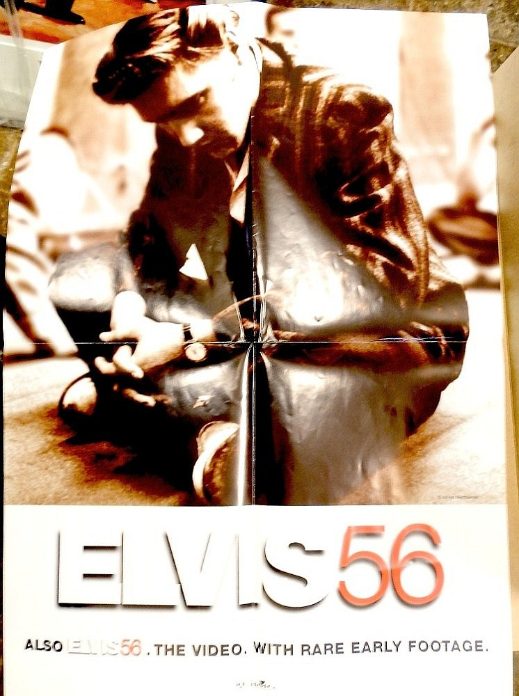 ELVIS PRESLEY ORIGINAL PROOF POSTER FOR ELVIS 56