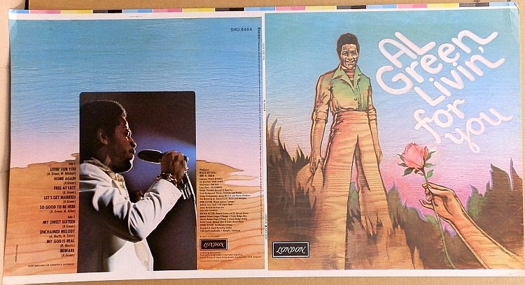 Al Green Proof for 'Livin For You'
