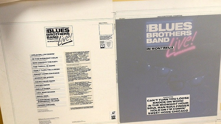 Blues Brothers Original Production Artwork Live in Montreux