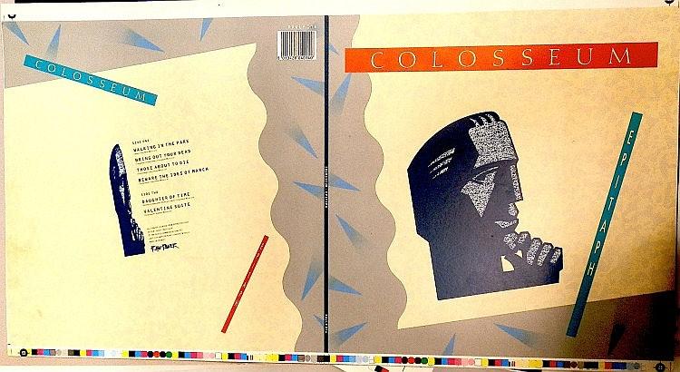 COLOSSEUM AN ORIGINAL PROOF FOR EPITAPH ALBUM