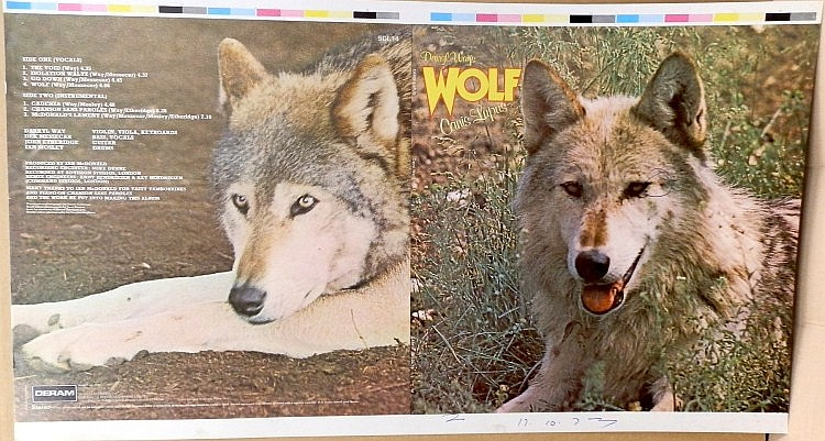 Daryl Way's Wolf Original Proof