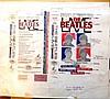 BEATLES original Production Artwork for THE BEATLES LIVE