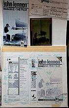Beatles John Lennon The Original Production Artwork for Imagine The Film