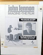 Beatles John Lennon Original Production Artwork Imagine Film