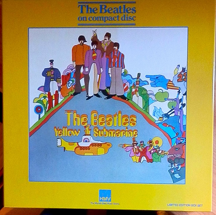 BEATLES RARE LTD EDITION YELLOW SUBMARINE BOX SET CD