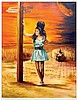 AMY WINEHOUSE ORIGINAL PRINT BY JAMES WILKINSON