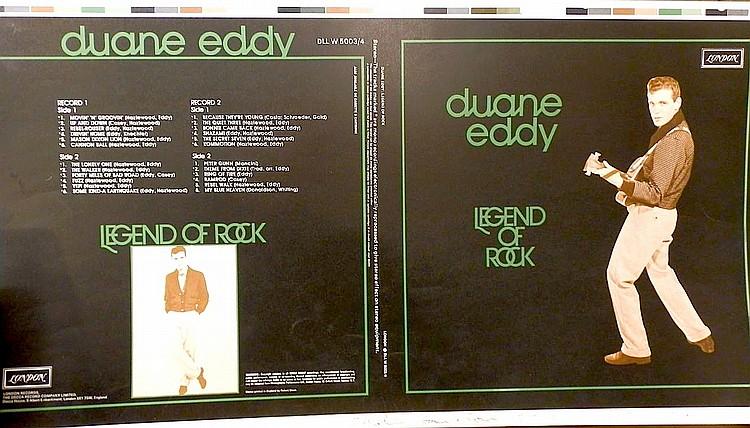 DUANNE EDDY ORIGINAL PROOF FOR ALBUM