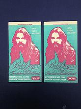 BOB SEGER AND THE SILVER BULLET BAND TOUR STICKER
