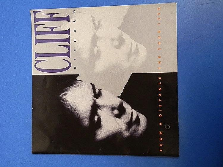 Cliff Richard 1990 Tour programme