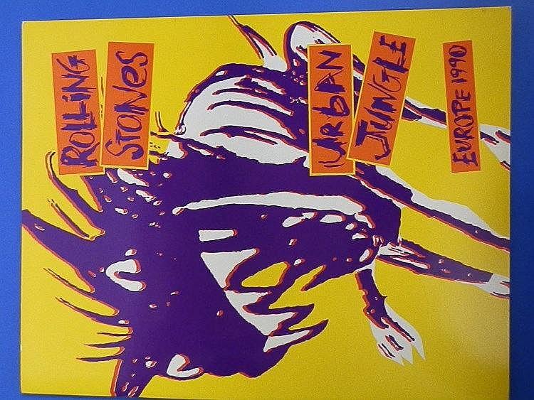 Rolling Stones original Urban Jungle 1990 Tour programme