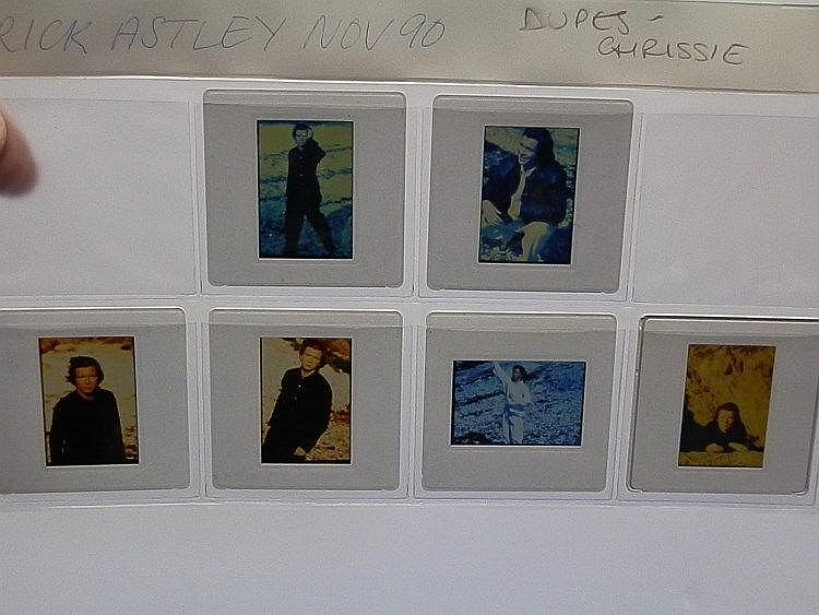 Rick Astley 6 professional key transparencies