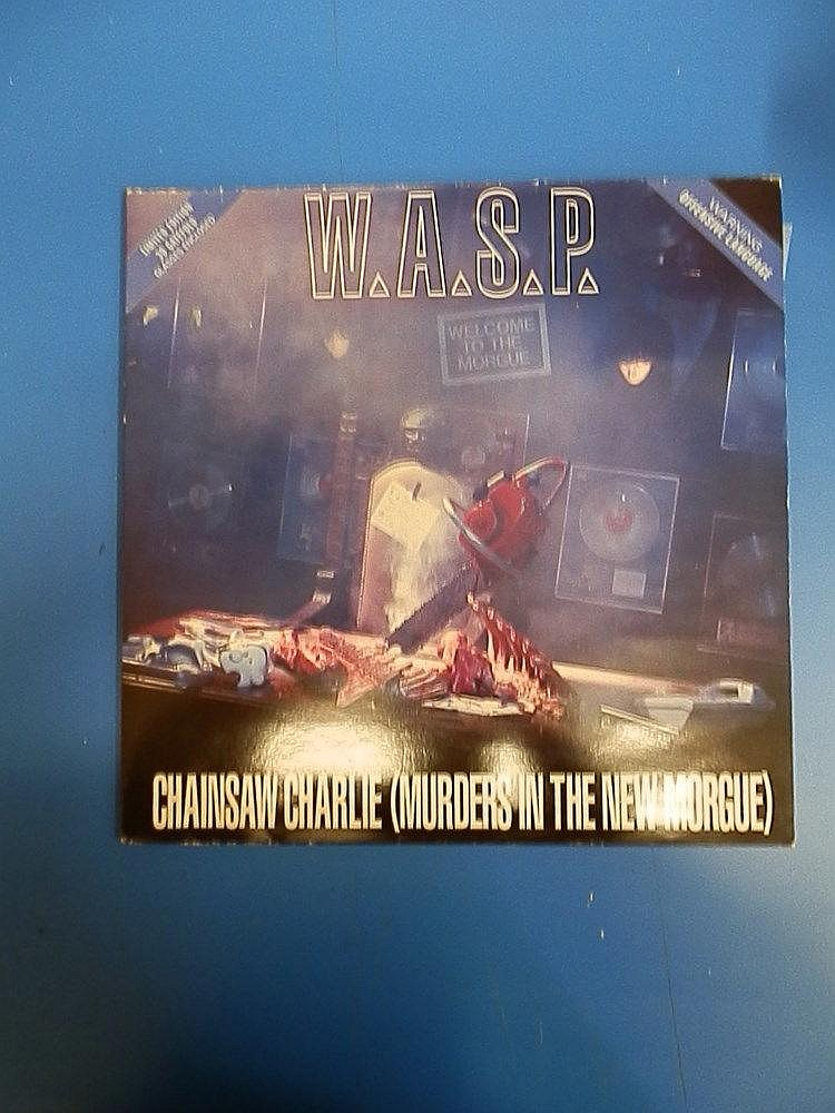 W.A.S.P unplayed 12? single for - Chainsaw Charlie (Murders in the new morgue).