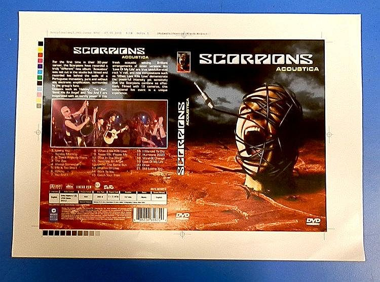 Scorpions original proofs for - Acoustica.