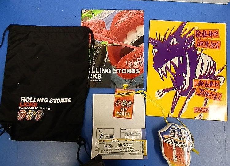 Rolling Stones - LICKS Promotional 2003 European Tour Bag