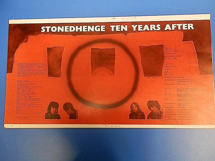 StonedHenge original DERAM proof for - Ten Years after