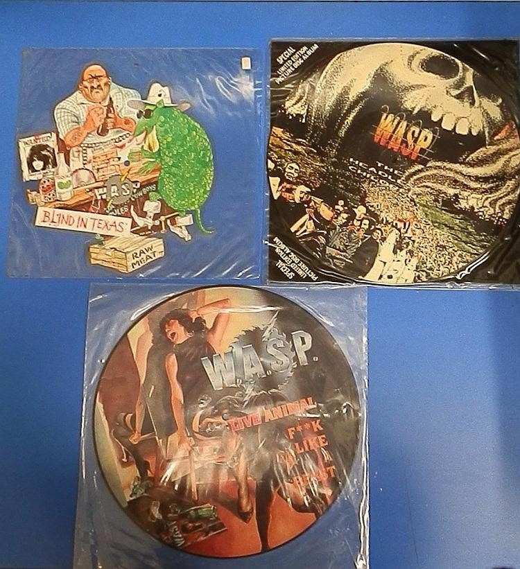 W.A.S.P unplayed picture discs