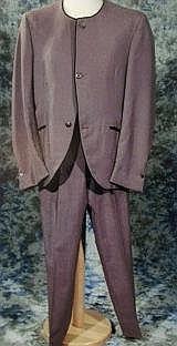 Beatles John Lennon's Collarless Mohair Beatle suit from 1963