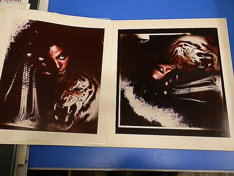 DIANA ROSS Original production artwork for Diana Ross point of sale stand and 15x10? poster.