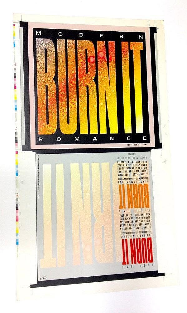 Modern Romance proof for - Burn It