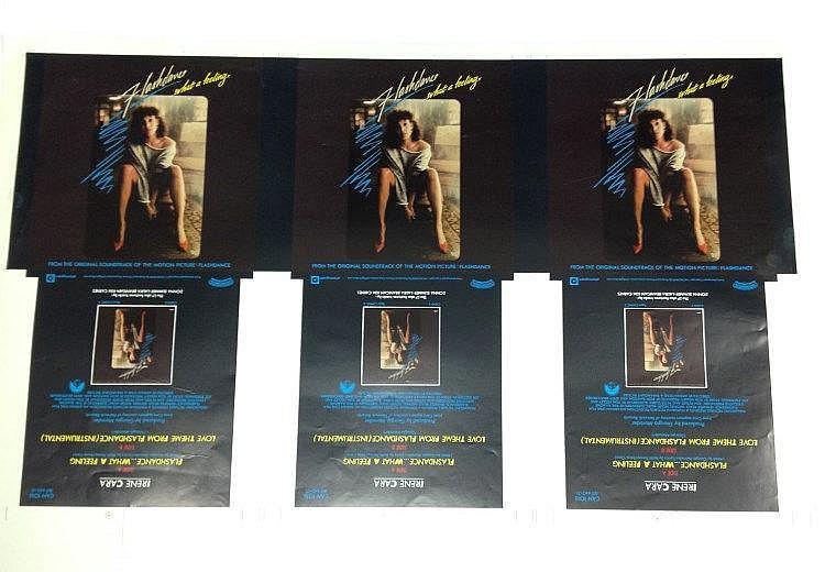 Irene Cara original proof for - Flashdance - What a feeling.