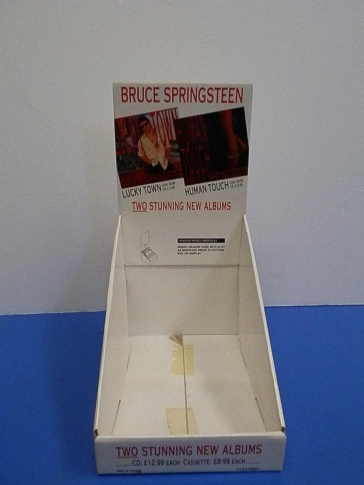 Bruce Springsteen box standee