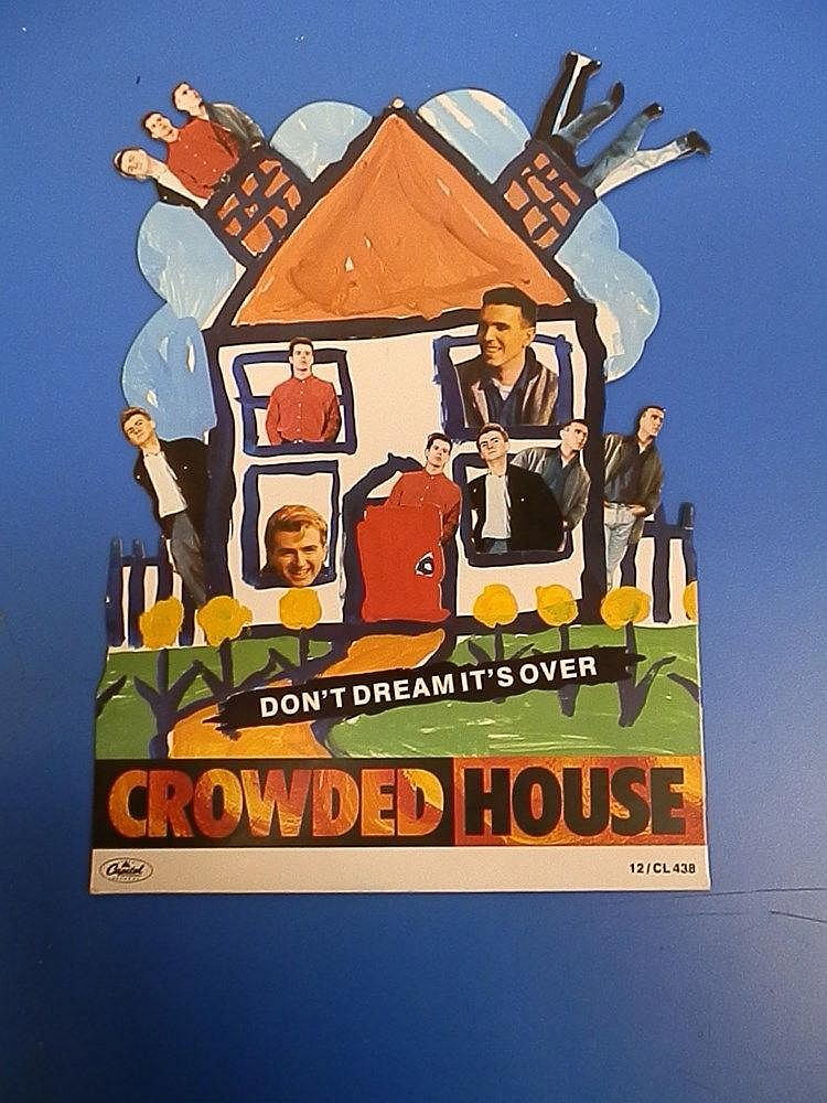 Crowded House standee