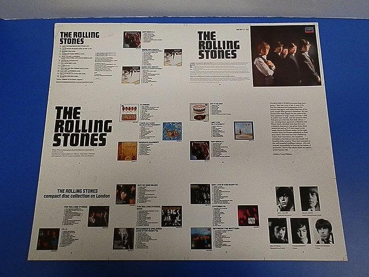 Rolling Stones an original Cromalin proof for - The Rolling Stones (first album)