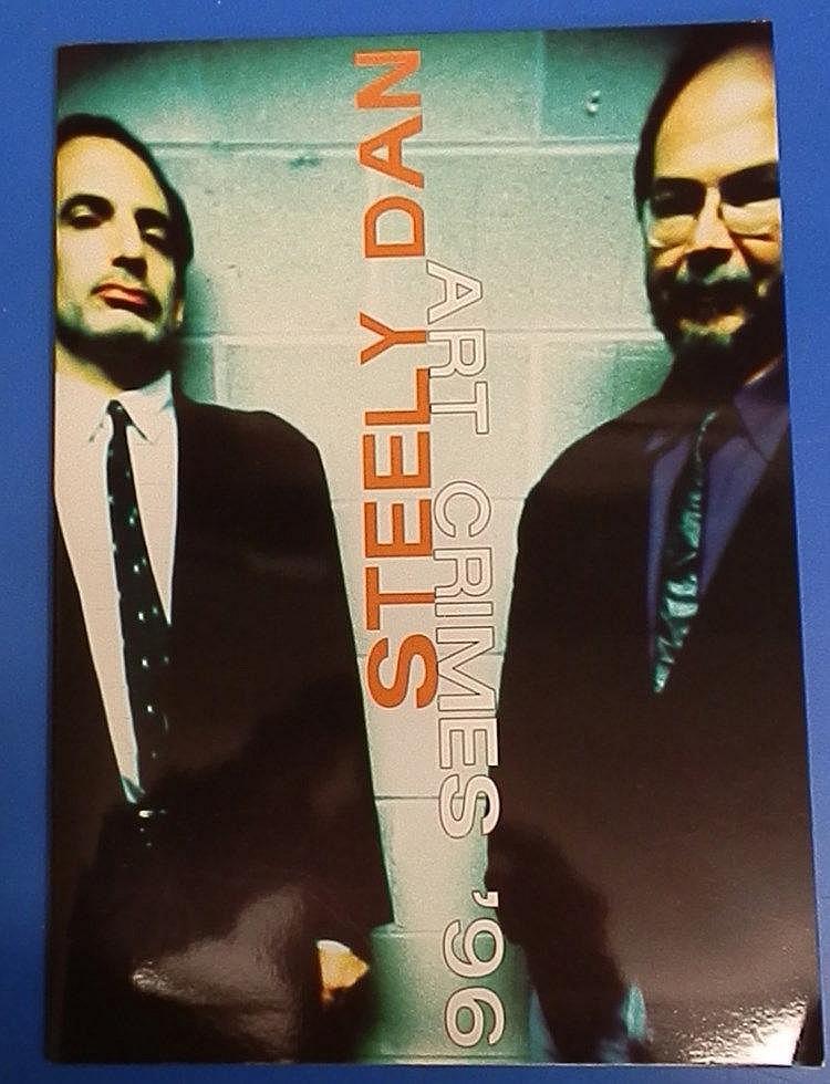 Steely Dan 1996 concert programme