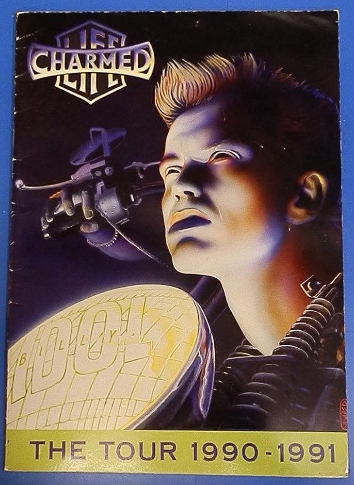 Billy Idol 1990 - 1991 tour programme
