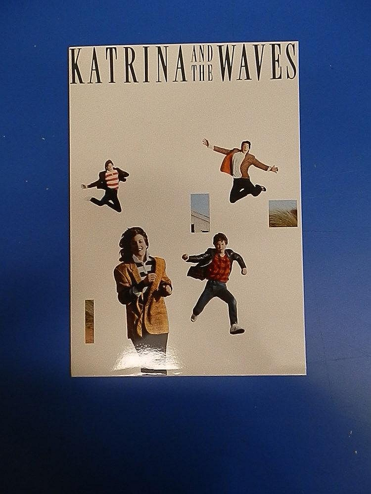 Katrina and the Waves press office publicity folder.