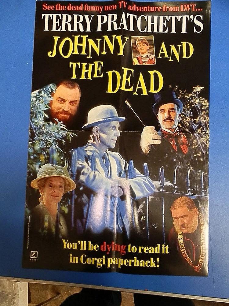 TV Terry Pratchett?s promotional poster for - Johnny and the Dead.