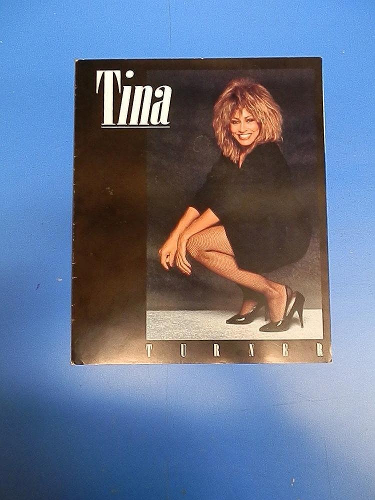 Tina Turner Press office publicity folder.