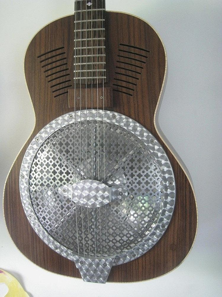 Eurythmics Dave Stewart & Coldplay Turner Resonator prototype Guitar