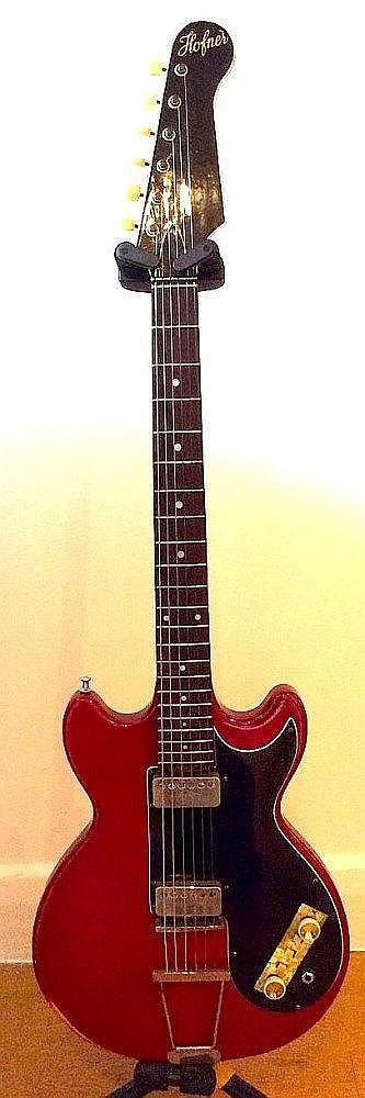 Cilla Black Hofner Colorama guitar 1962