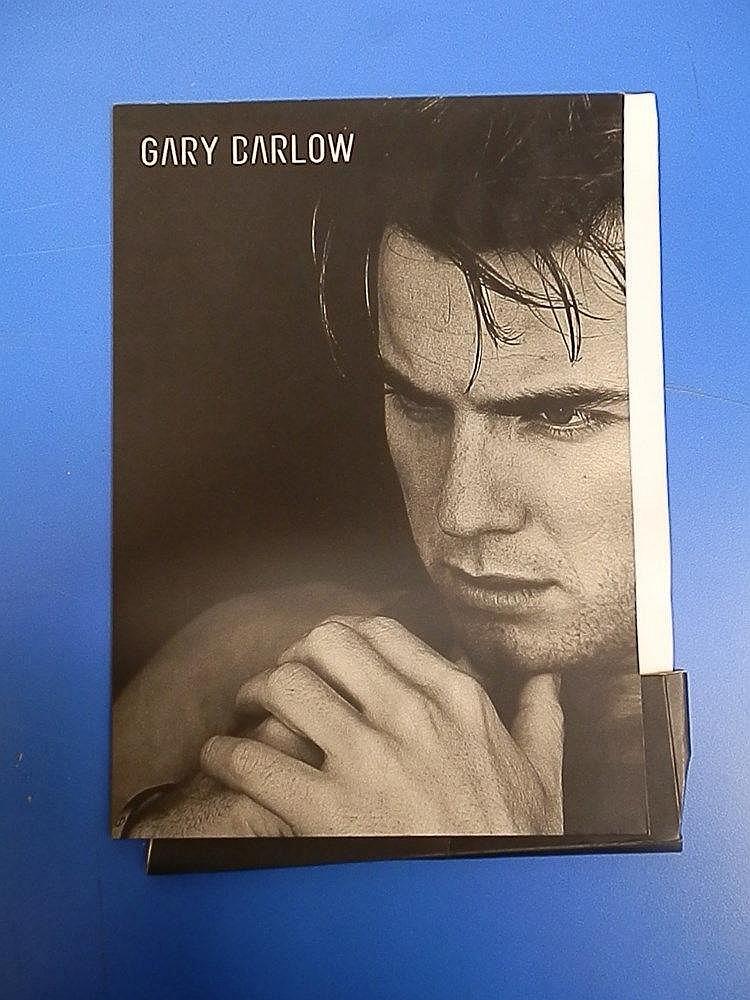 Gary Barlow - Rare press folder