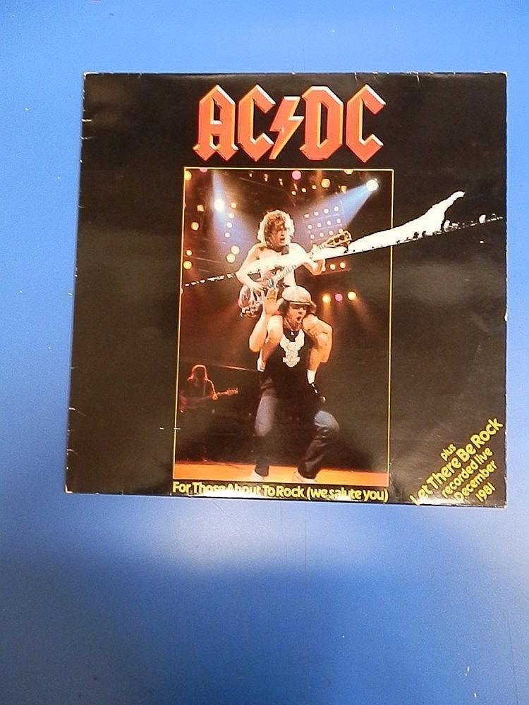 ACDC 12? unplayed single for - For those about to rock (we salute you).
