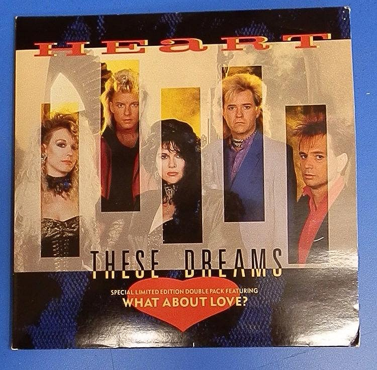Heart unplayed 7?singles (double) for These Dreams & What about love?.