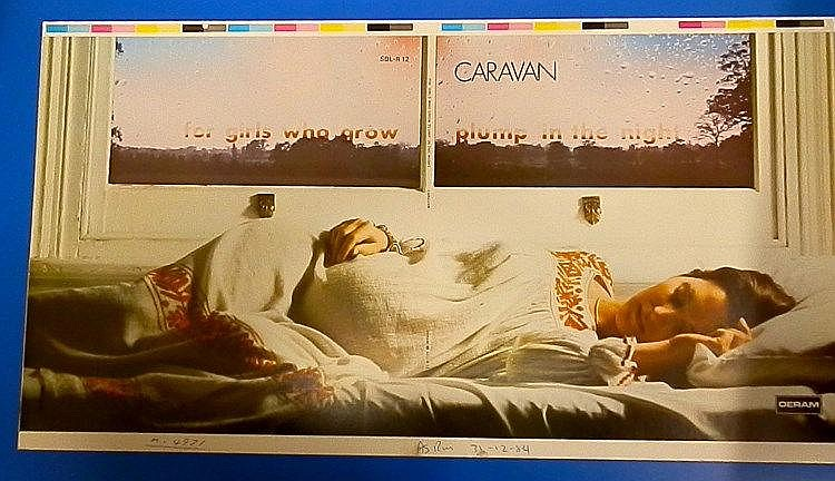 Caravan original DERAM 1984 proof
